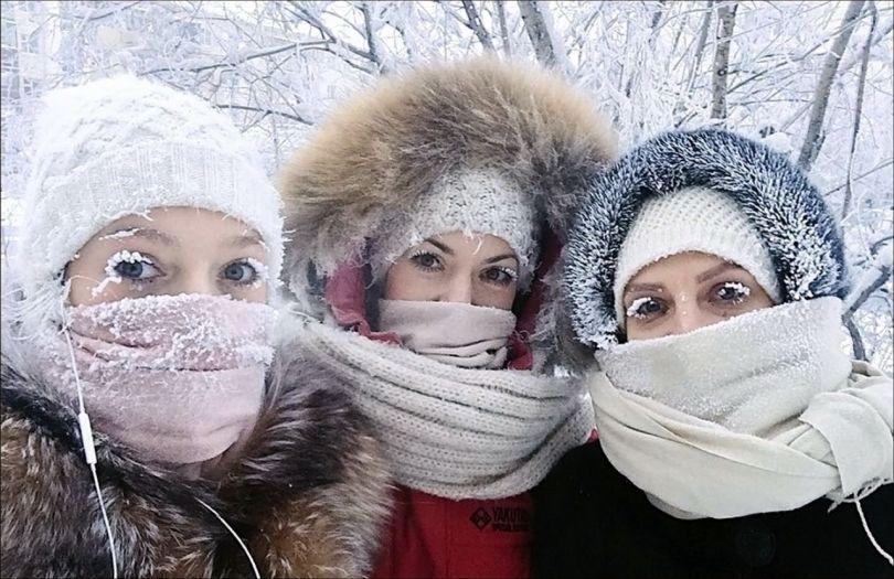 Oïmiakon – Sibérie – Russie - Femmes
