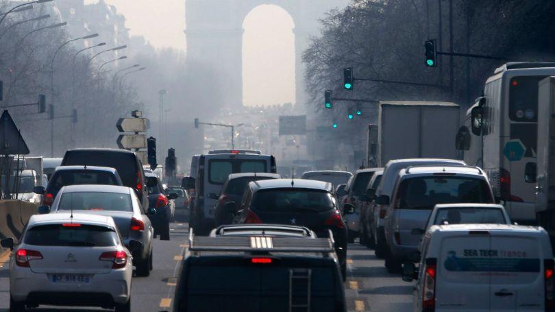 Paris - Circulation automobile