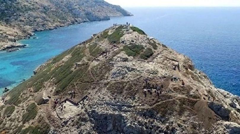 Pyramide – Ile de Kéros – Grèce - 1