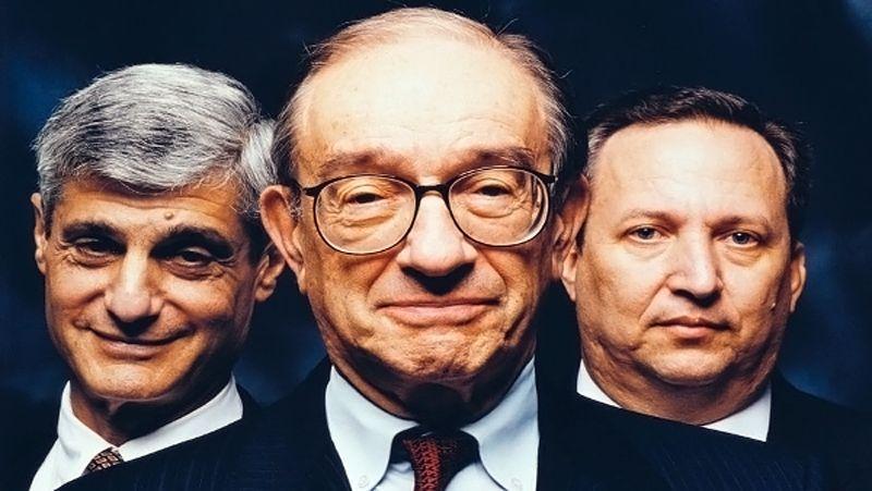 Robert Rubin - Alan Greenspan - Larry Summers