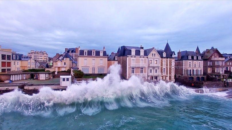 Saint-Malo - Vagues - 1