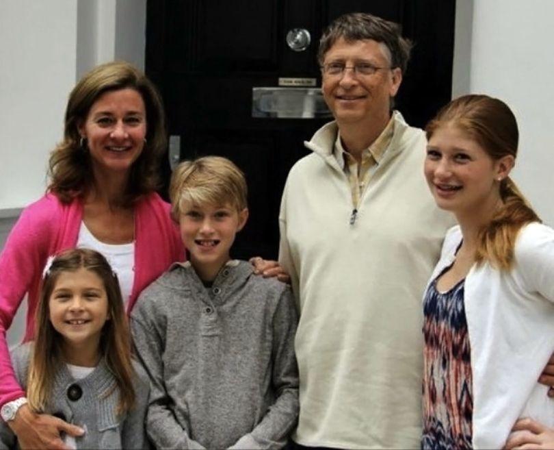 Bill Gates & sa famille