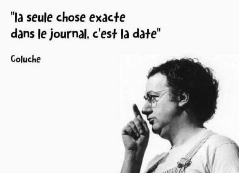 Coluche - Citation