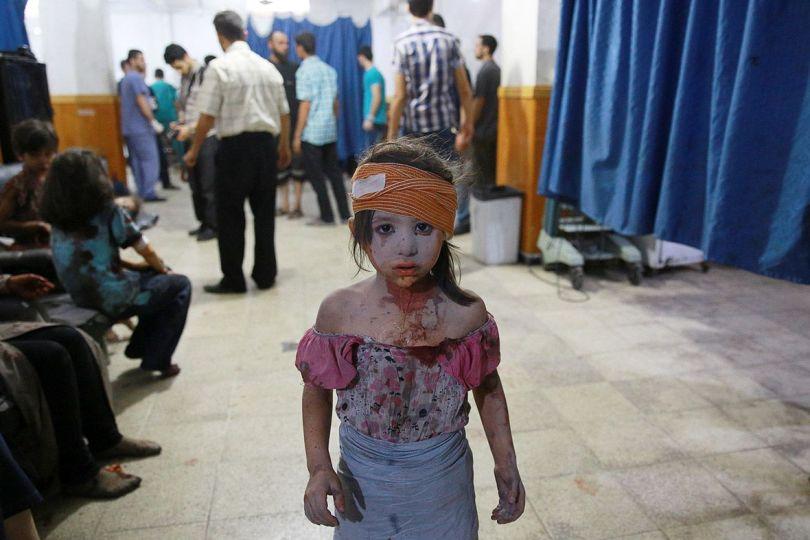 Enfants - Hôpital - Syrie
