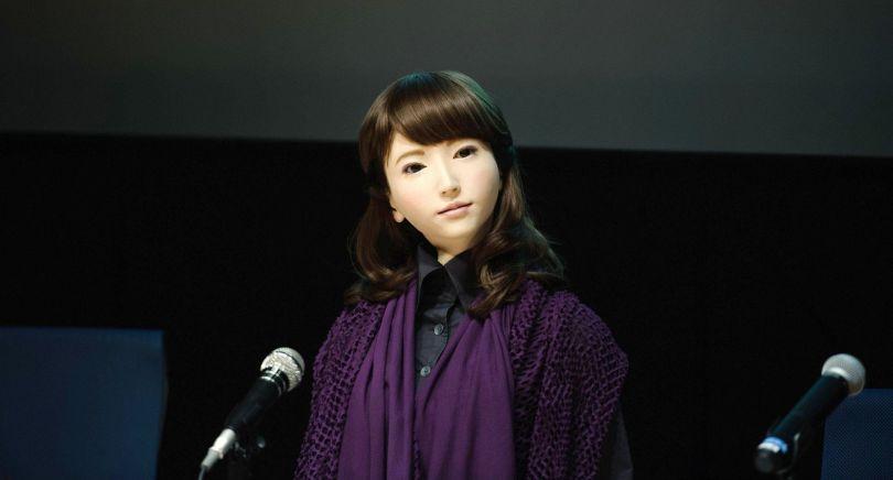 Erica - Robot - Japon - 1