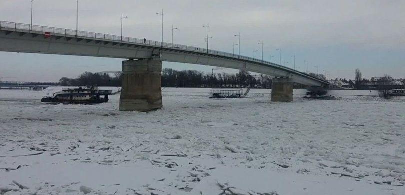 Fleuve gelé - Europe