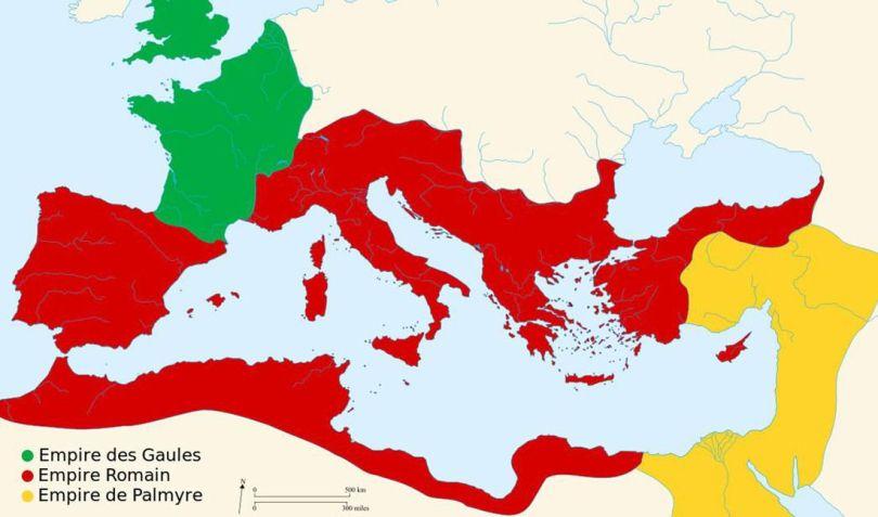 L_Empire de Palmyre en 271