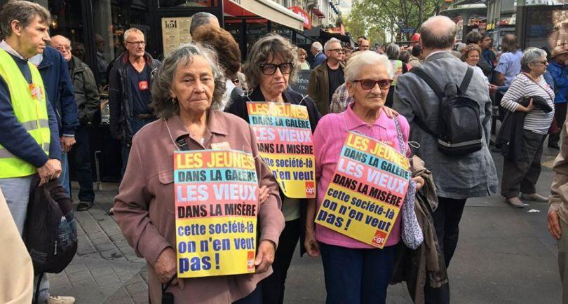 Manifestation retraités - CGT