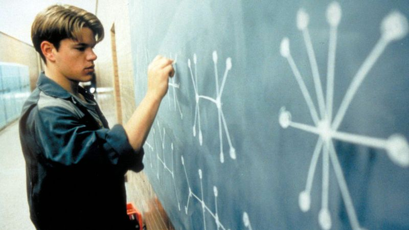 Matt Damon - Film Will Hunting