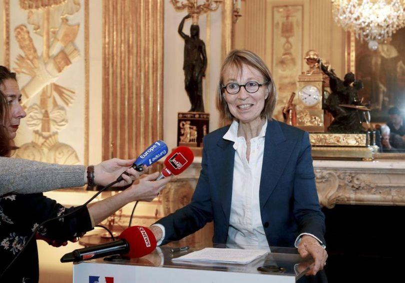 Ministre de la Culture, Françoise Nyssen