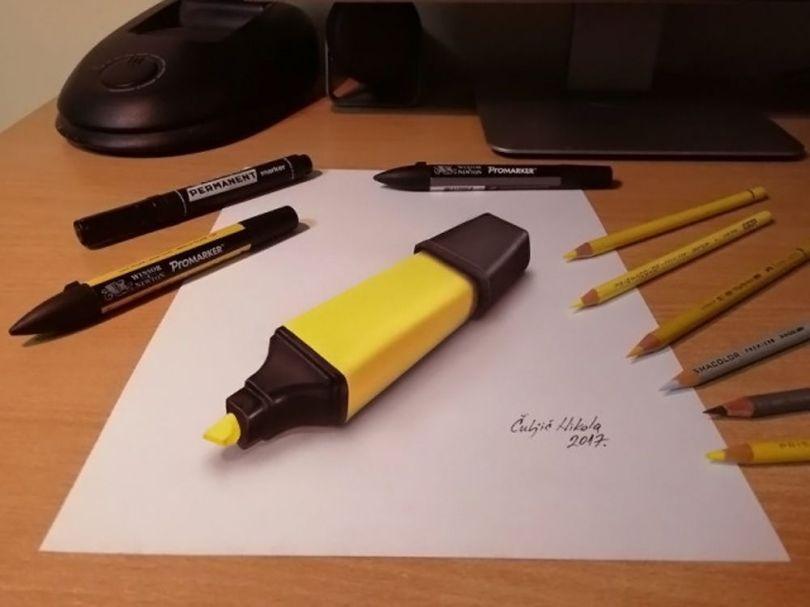 Nikola Culjic – Dessin 3D - 5