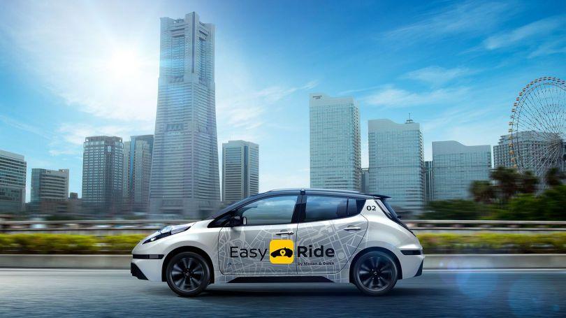 Nissan - Robot-taxi – Japon - 1