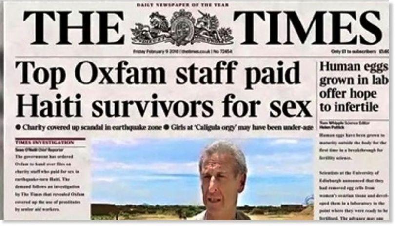 Oxfam - Times