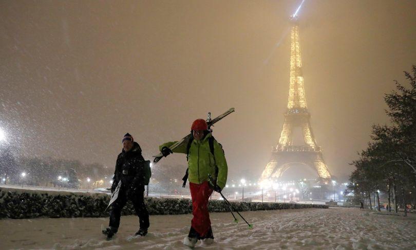 Paris - Skieurs