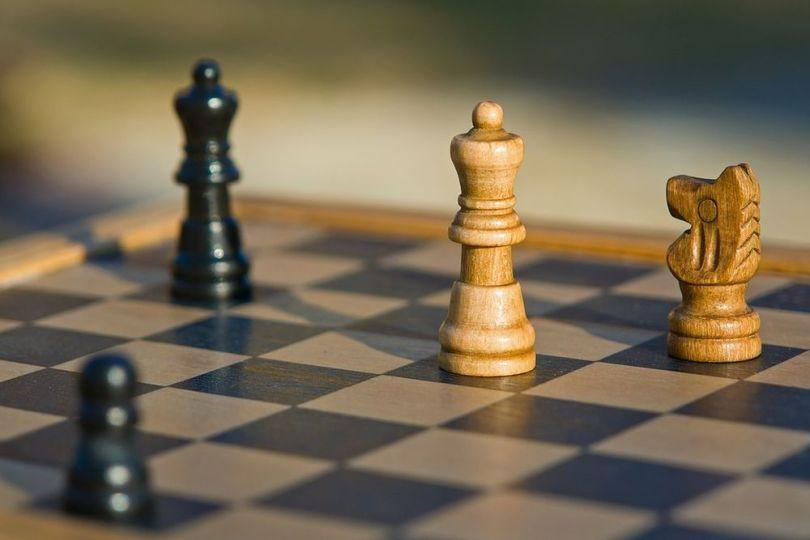 Un plateau d_échecs