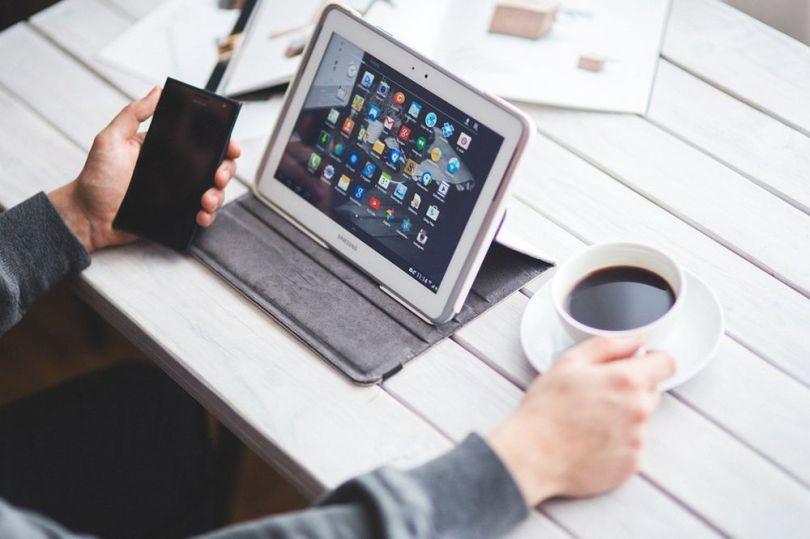 Une tablette numérique