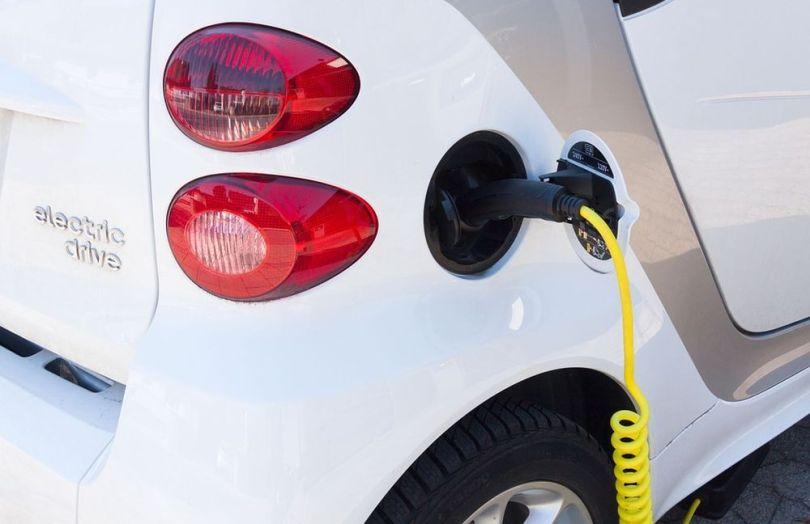 Une voiture electrique