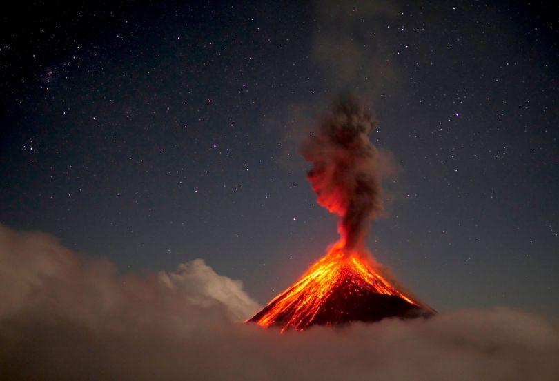 Volcan - Eruption