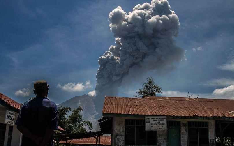 Volcan Sinabung - 1