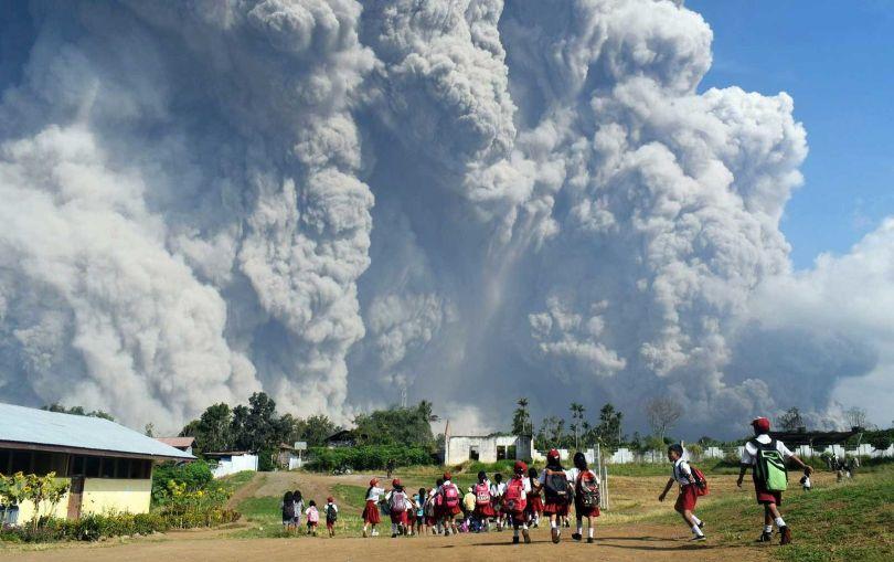 Volcan Sinabung - 2