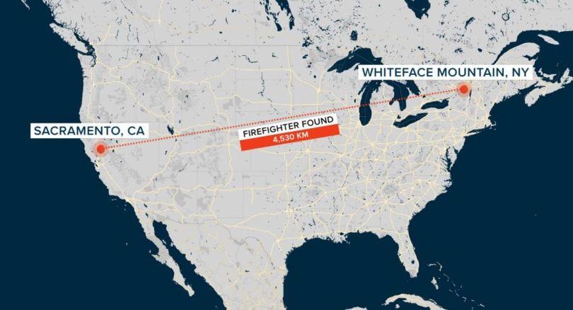Whiteface Mountain – Sacramento - Distance