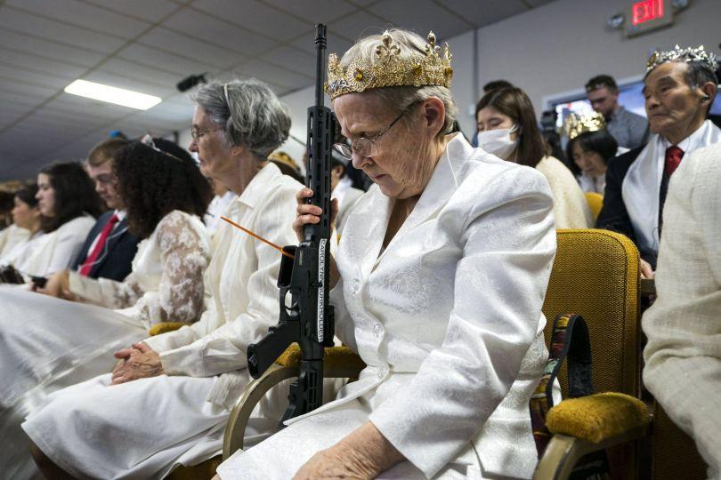 Eglise de l'unification - Armes à feu - 2