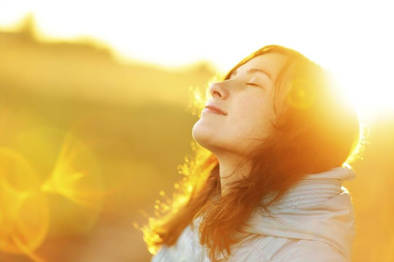 Femme - Soleil - Sun