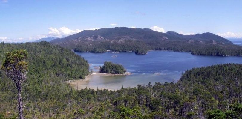 l'île Calvert - Canada