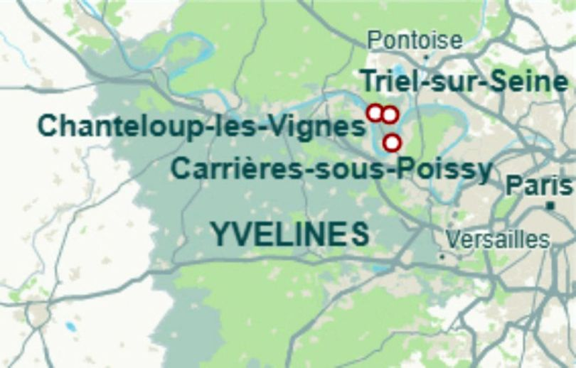 Map - Décharge sauvage - Yvelines