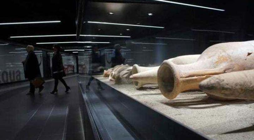 Métro – Archéologie – Italie – A