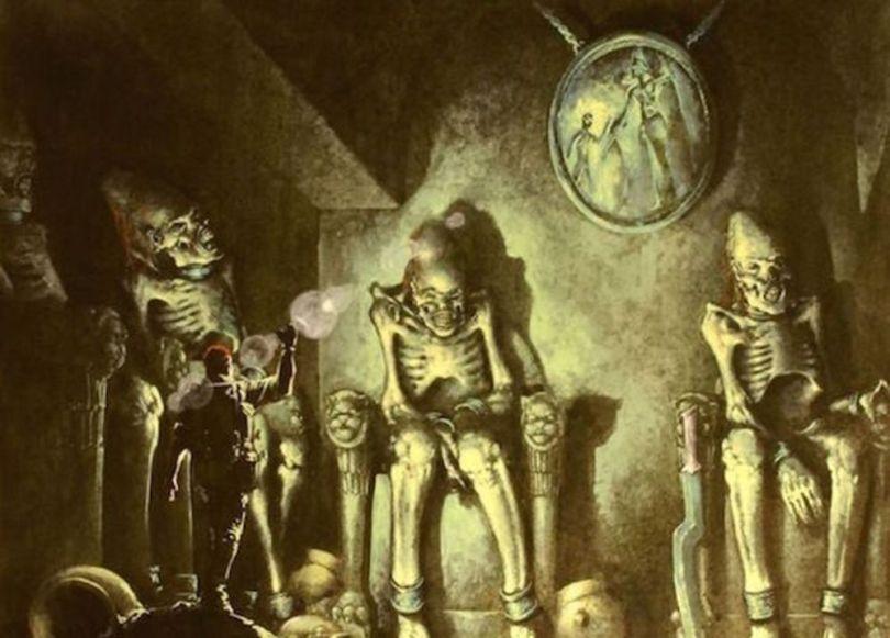 Mythes et légendes - Civilisations souterraines - 2