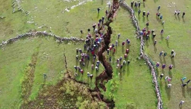 Pérou – Faille géologique - 1