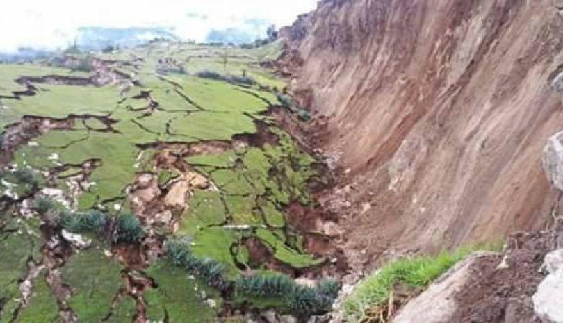 Pérou – Faille géologique - 2