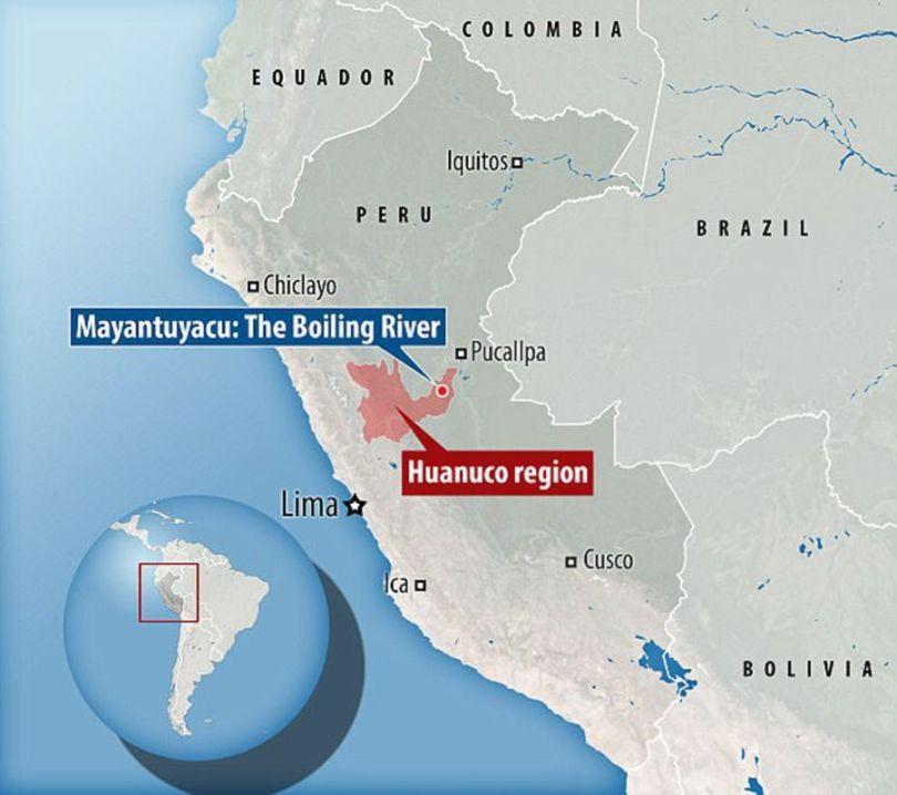 Rivière bouillante – Amazonie – Pérou - 3