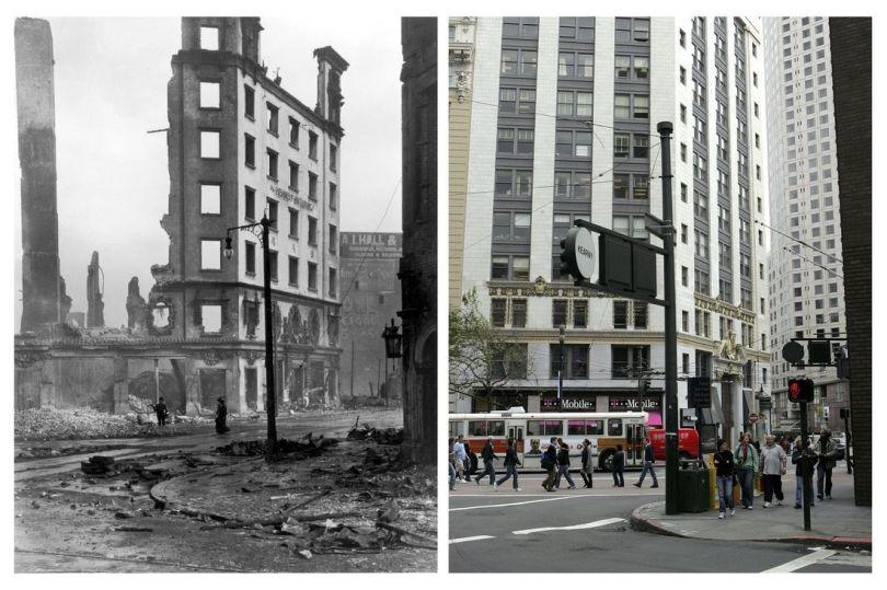 San Francisco 1906 et 2006