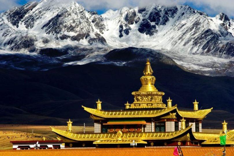 Temple Tagong - Tibet