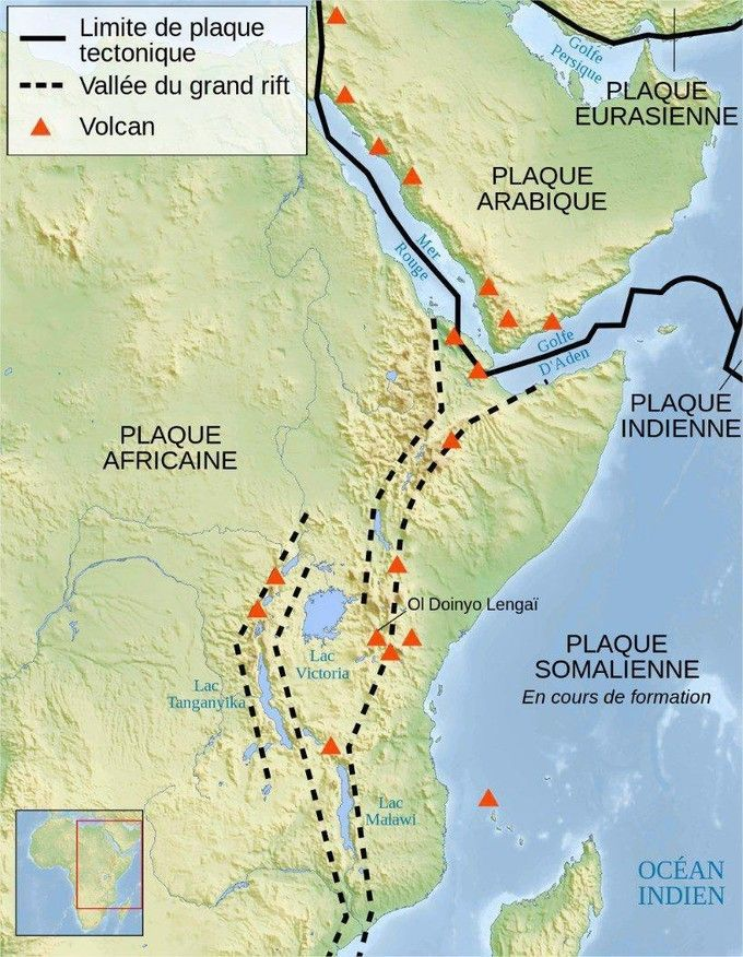 Vallée du Rift – Kenya – Enorme fissure - 5