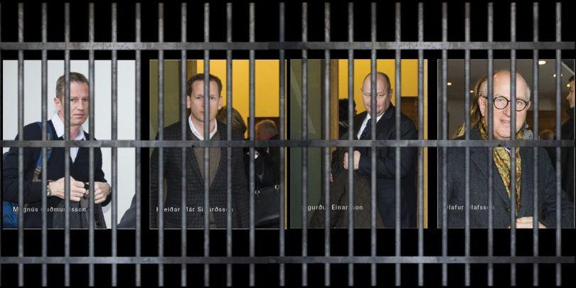 Banquiers islandais – prison – 2