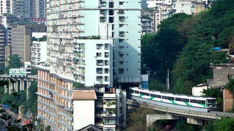 Chine – Métro – Immeuble - 1