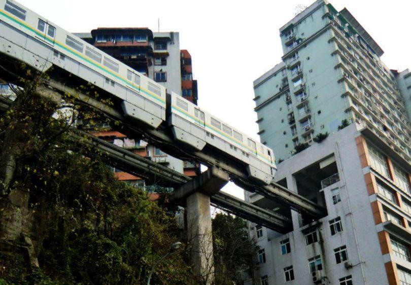 Chine – Métro – Immeuble - 4