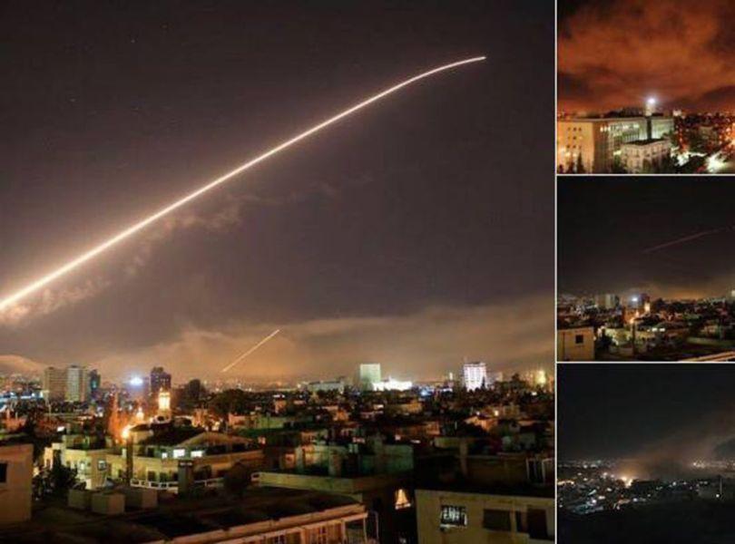 Frappes aériennes Syrie