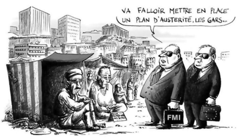 Grèce - Démantelement service public - 5