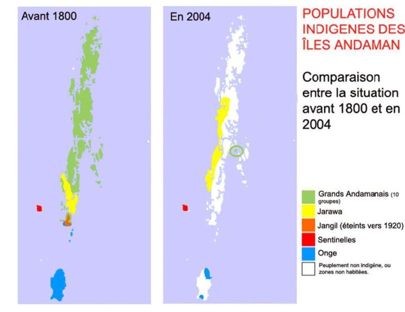 MAP - Carte des îles andaman