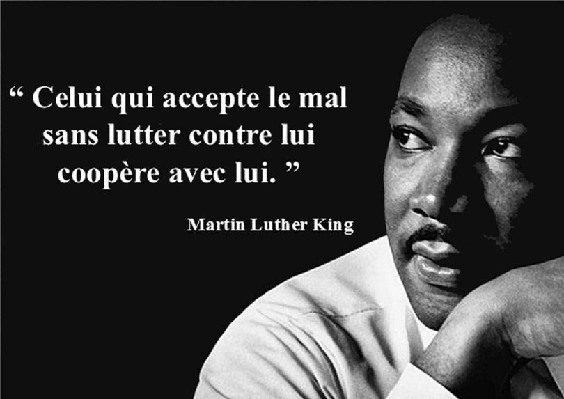 Martin Luther King - Citation violence