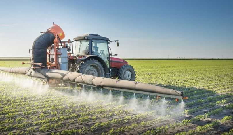 Pesticides - Tracteur