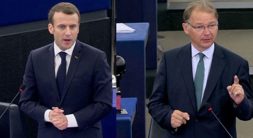 Philippe Lamberts Vs Emmanuel Macron