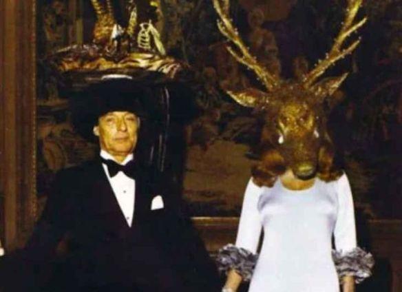Bal Illuminati : La soirée des Rothschild en 1972, vraiment ...