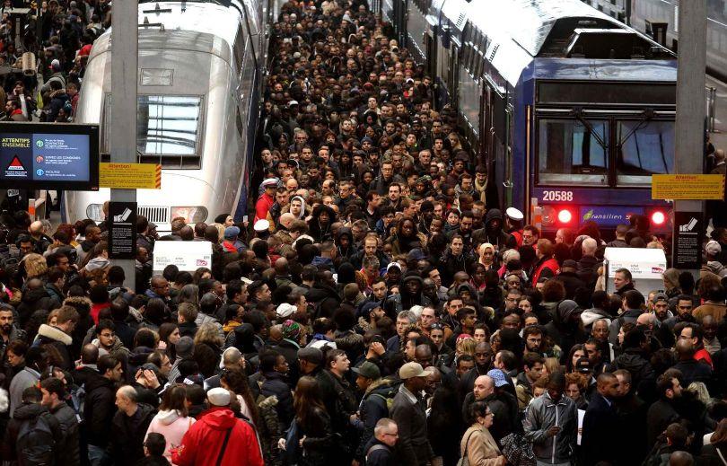 SNCF - Grève - Train