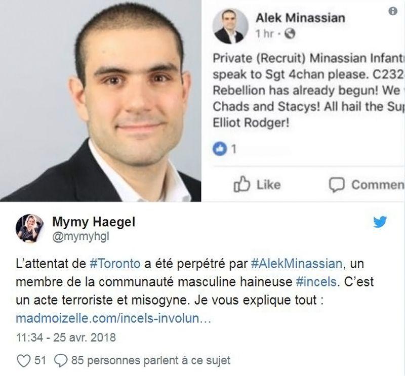 Twitte - Alek Minassian