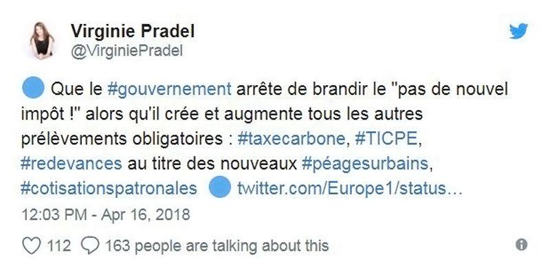Twitte - Impôt